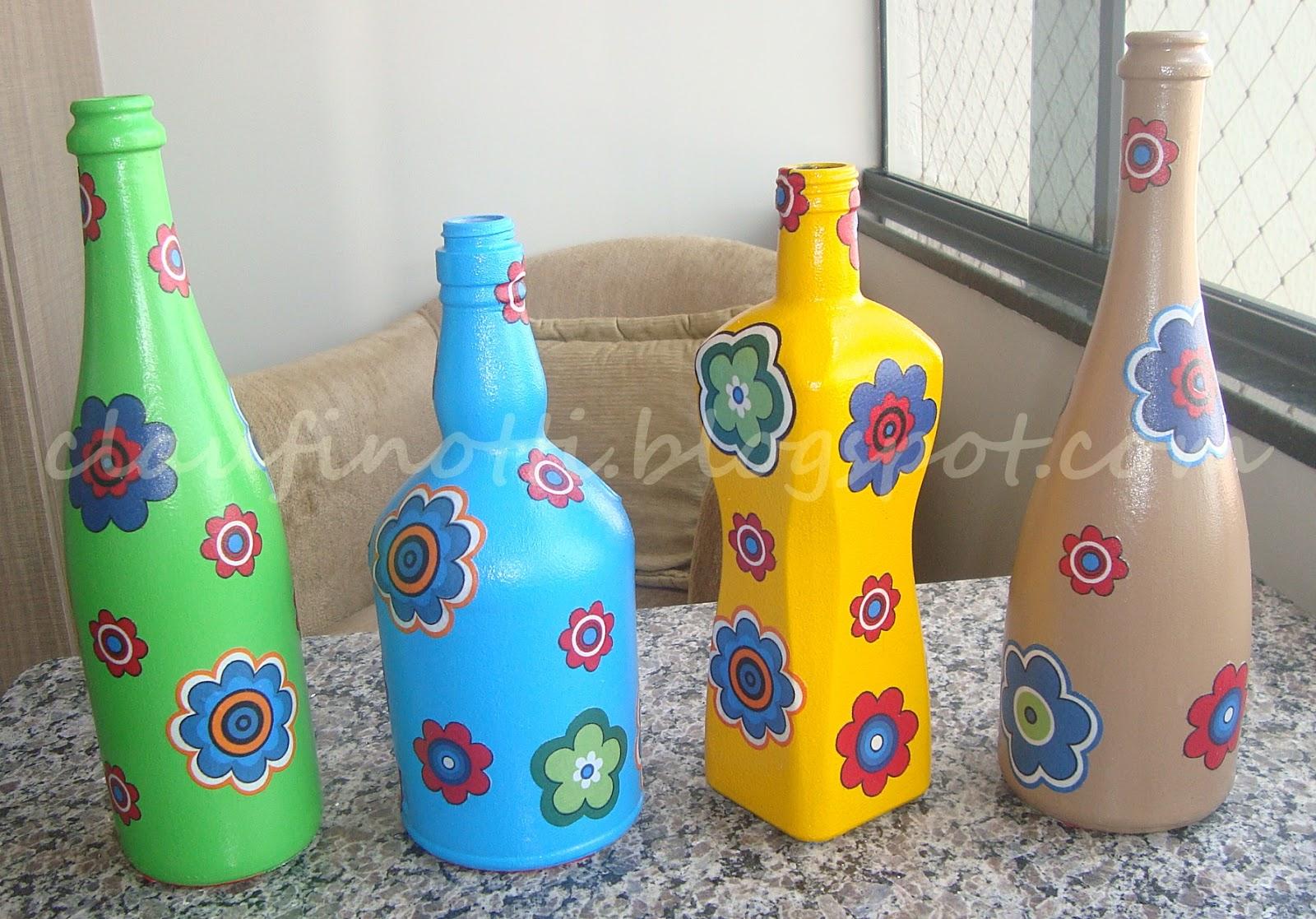 Garrafas Recicladas Fora de Expresso