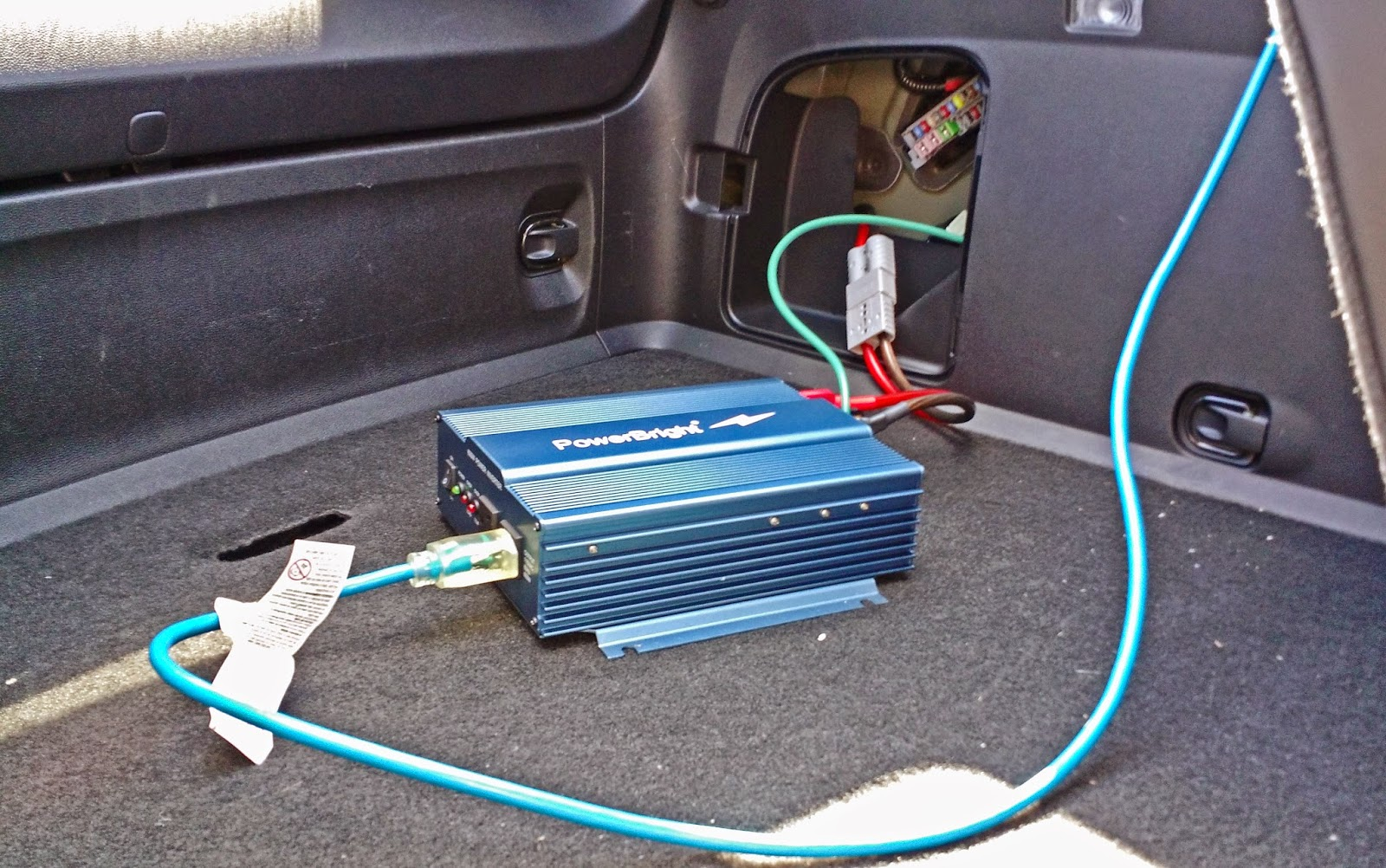 The EV Observatory: Wiring a Chevy Volt for AC power in the field