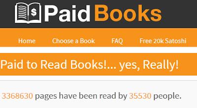 Baca Buku di Bayar Bitcoin