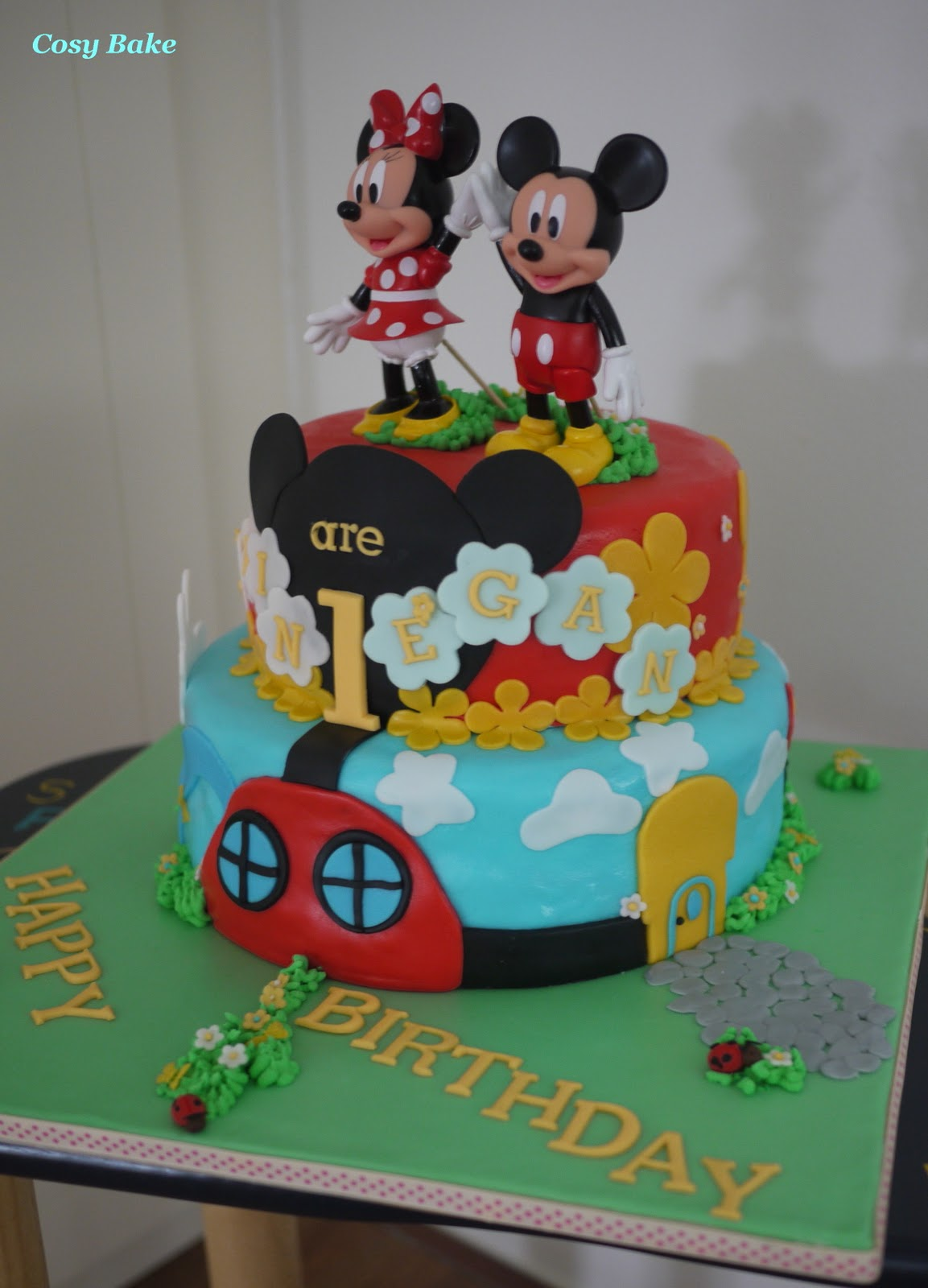 Fondant Cartoon Cakes
