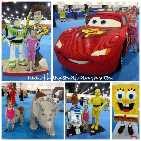 LEGO KidsFest characters