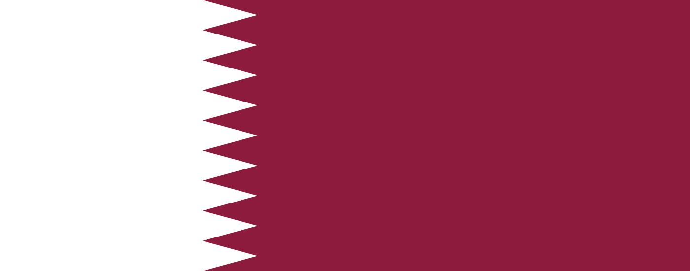 Bandera de Qatar (Catar)
