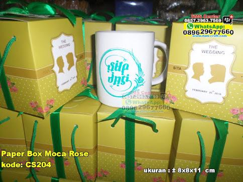 Paper Box Moca Rose murah