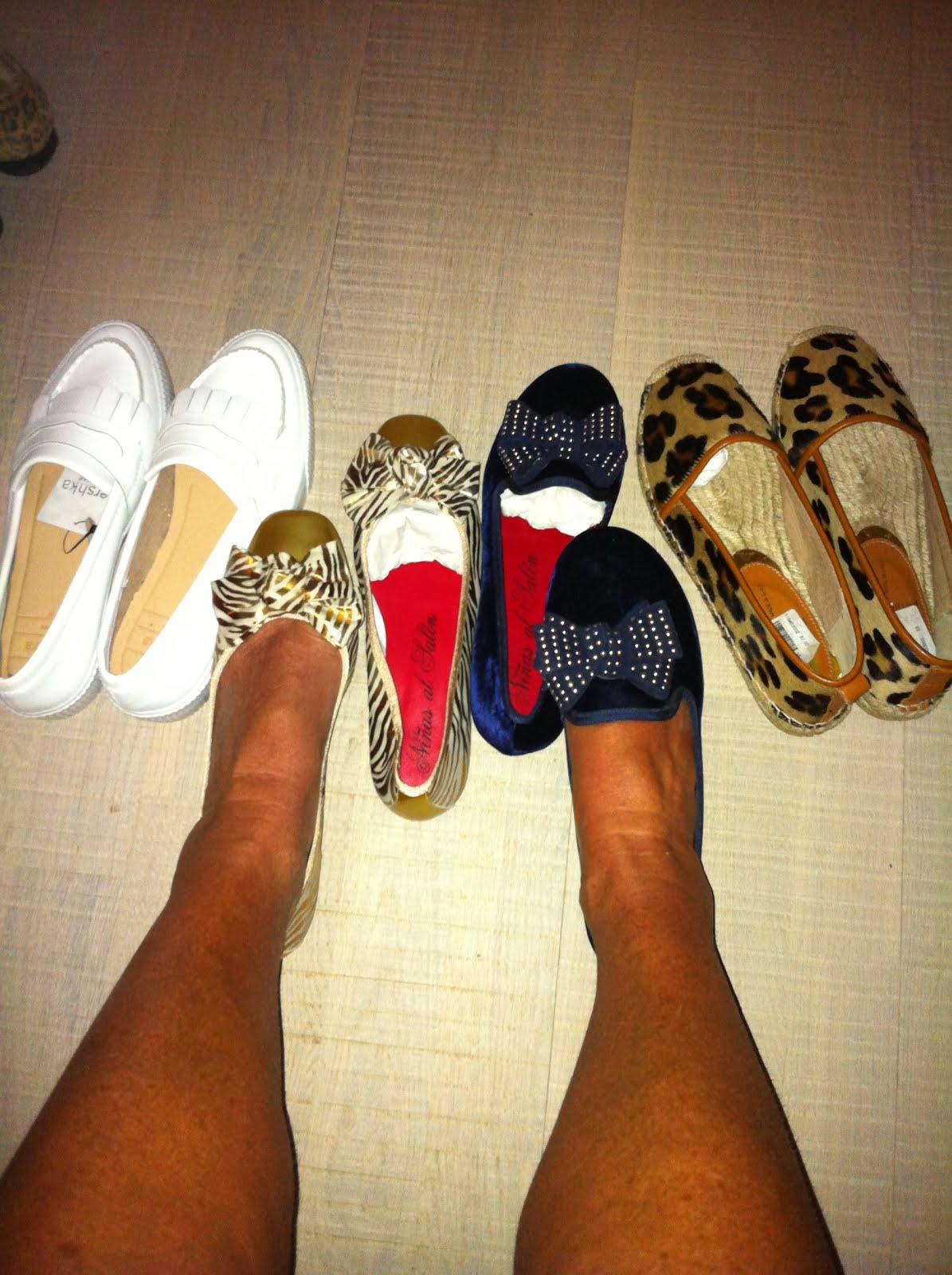 Jag gillar skor!
