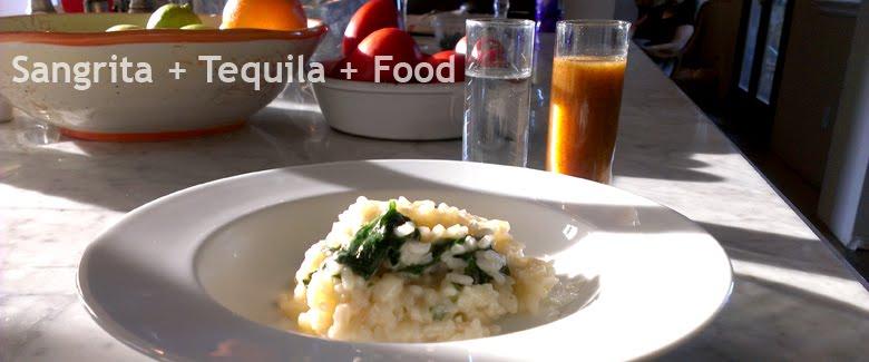 Sangrita  + Tequila + Food