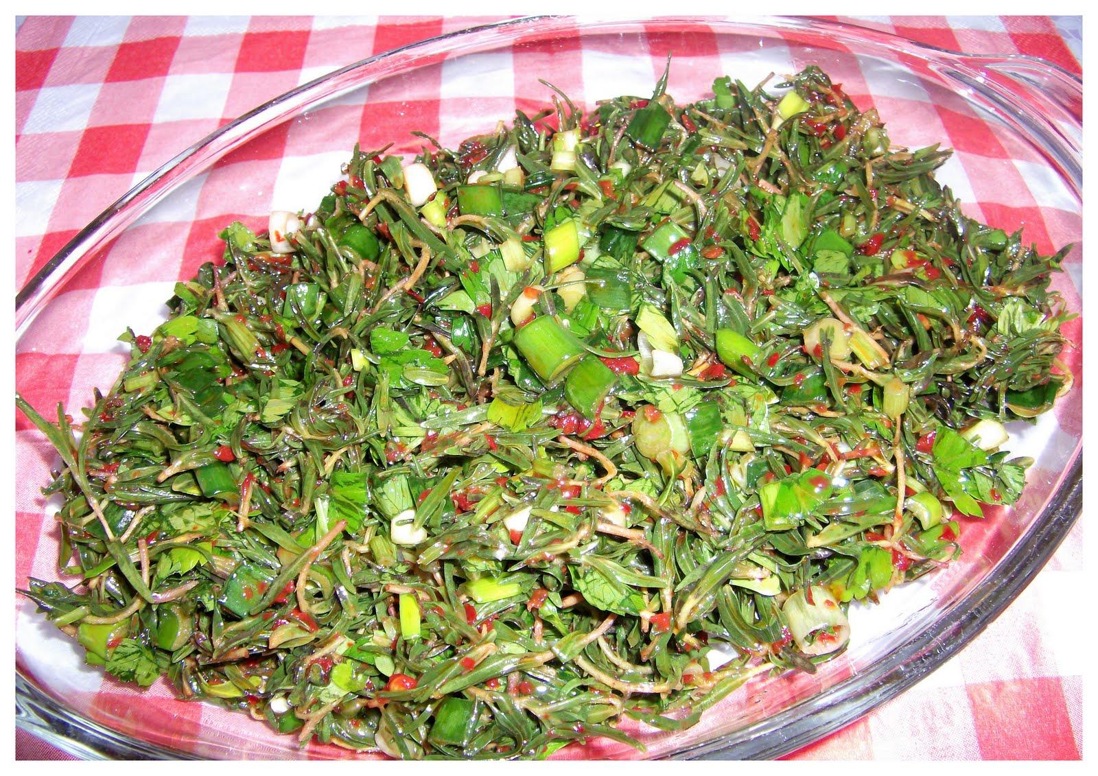 Zahter Salatası