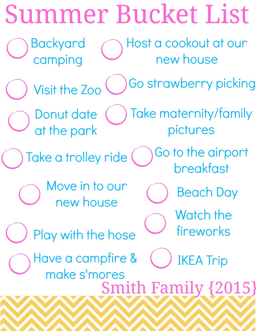 Guys Bucket List Your Summer Bucket List