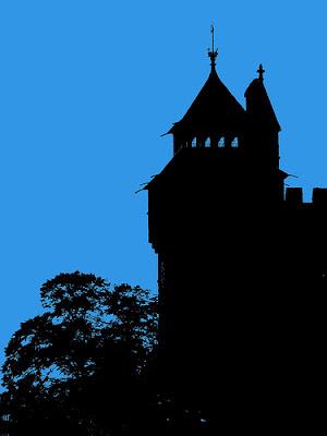 Cardiff Castle Dusk