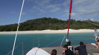White Sands of Whitsunday Islands..