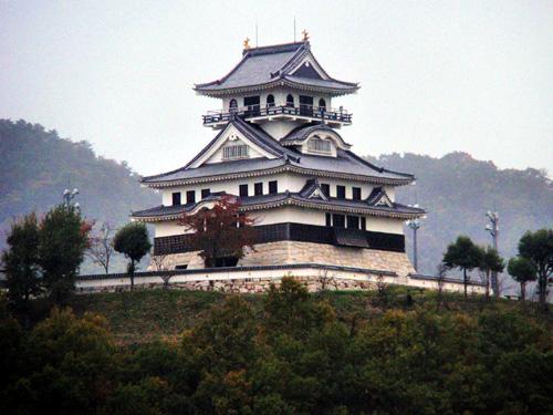 Kawahara Castle Tottori Prefecture