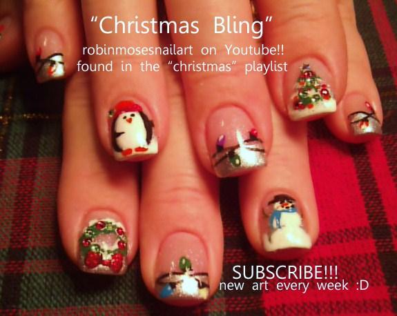 Robin moses nail art christmas nail art christmas nails cute christmas nail art christmas nails cute christmas nails diva christmas nails short christmas nails holly nail art cutest penguins ever cutest nail prinsesfo Gallery