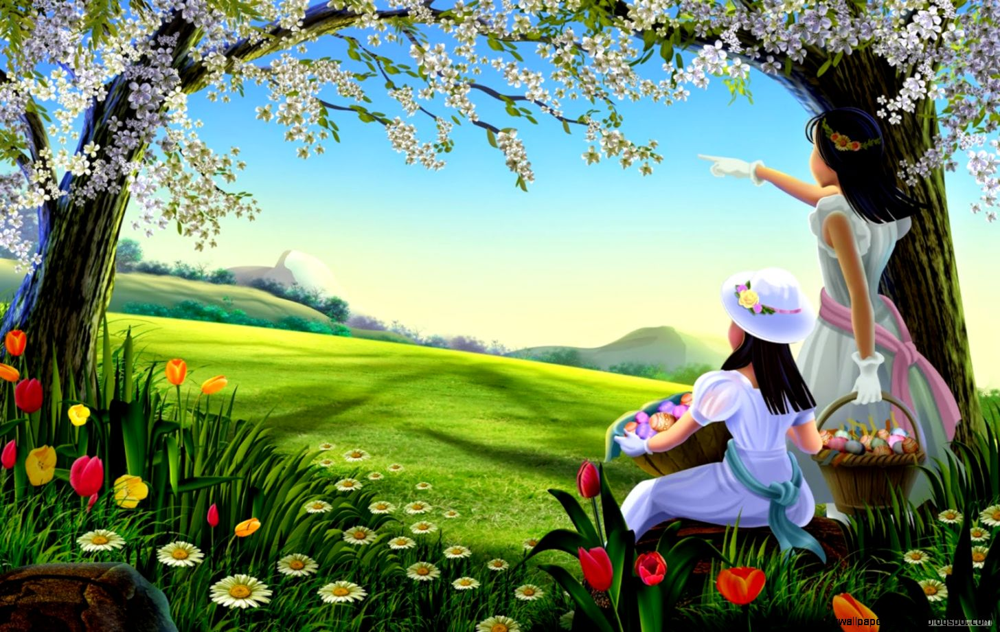 Nature Animation Hd Wallpaper  HDsheet