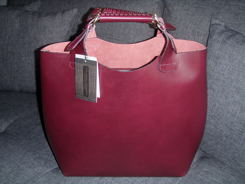 leather shopper bag zara