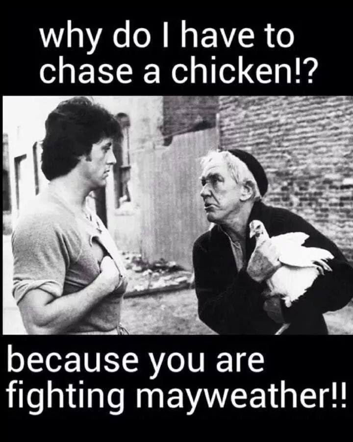 Old School Chicken Chasing