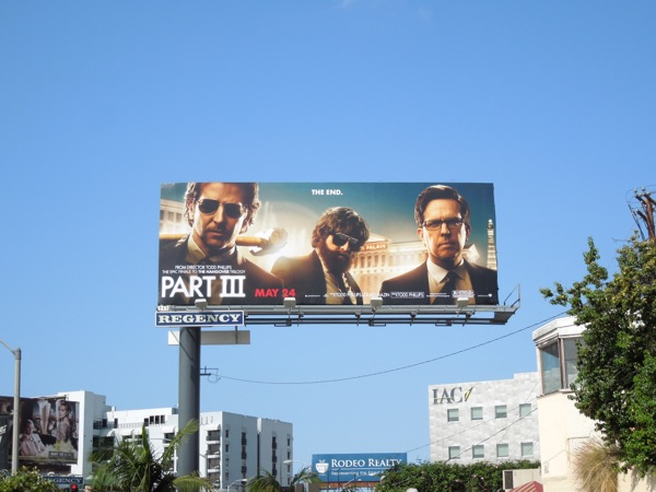 Hangover Part 3 billboard