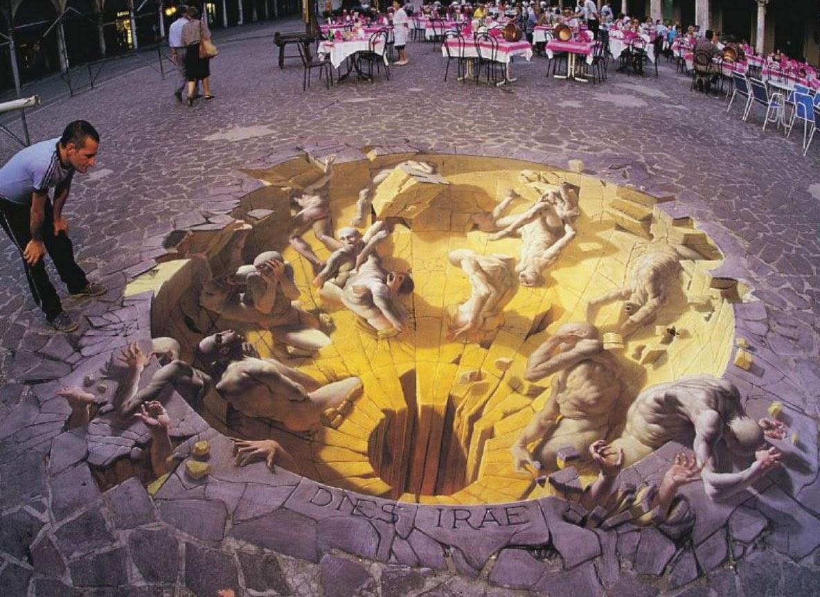 Kumpulan Cara Membuat Lukisan 3d Di Tembok Retak Karnavalotto
