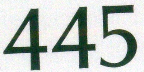 NumberADay: 445