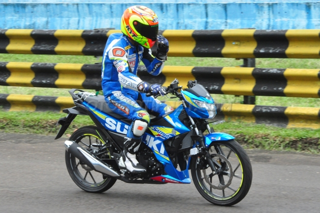 Alasan Suzuki Pakai Throttle Body 32mm di Satria F150 FI