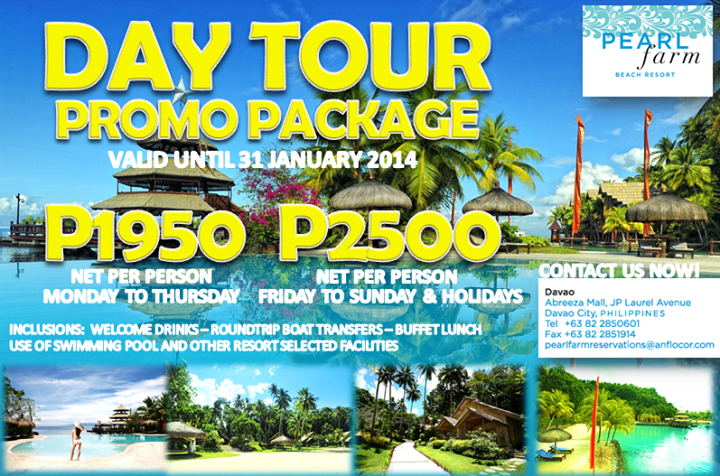 Samal Island Day Tour Package