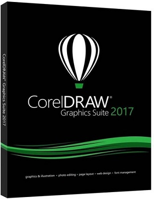 CorelDRAW Graphics Suite 2017 19.1.0.434 poster box cover