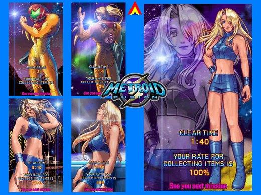 Metroid Fusion Collage EndingA por daPhyre