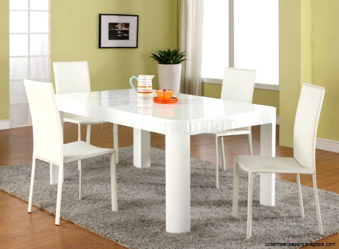 White Dining Table White Modern Dining Tables With Window Which