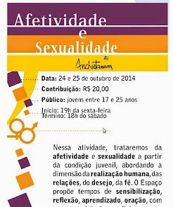 ESPAÇO: AFETIVIDADE E SEXUALIDADE
