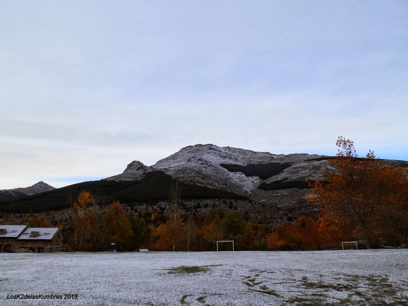 Pico Ocejon, desde Valverde de los arroyos