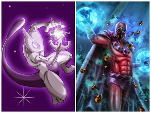 Magneto - Mewtwo
