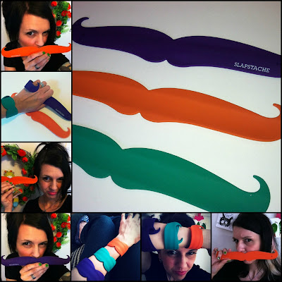 slapstache, mustache slap bracelets, do they still make slap bracelets, slapstache review