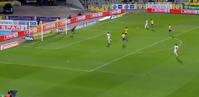 1-0 gol de Cani