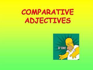 pengertian comparative adjective