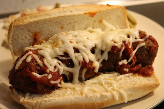 Cooking through Disney: Tony's Meatball Sub Sandwich