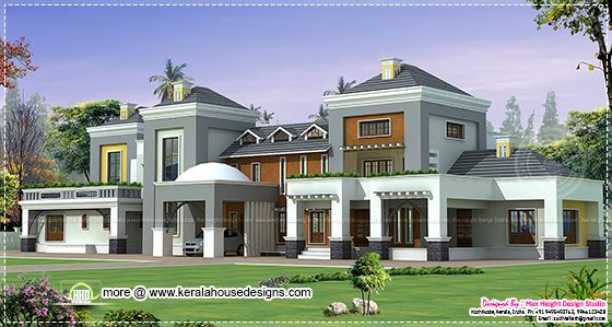 Luxury House Elevation