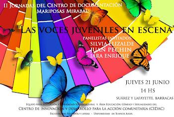 "II JORNADAS DEL CENTRO DE DOCUMENTACIÓN ""MARIPOSAS MIRABAL"""