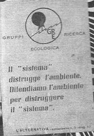 MANIFESTO DEI G.R.E.
