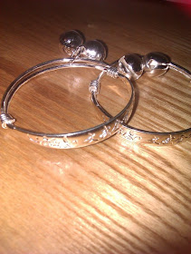 sterling silver baby bangles for sale