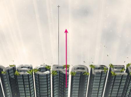 Membuat Effect Text 3D Gedung Pencakar Langit