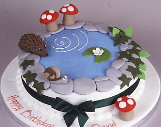 Pond Cake made by Michelle Wibowo of Michelle's Cakes