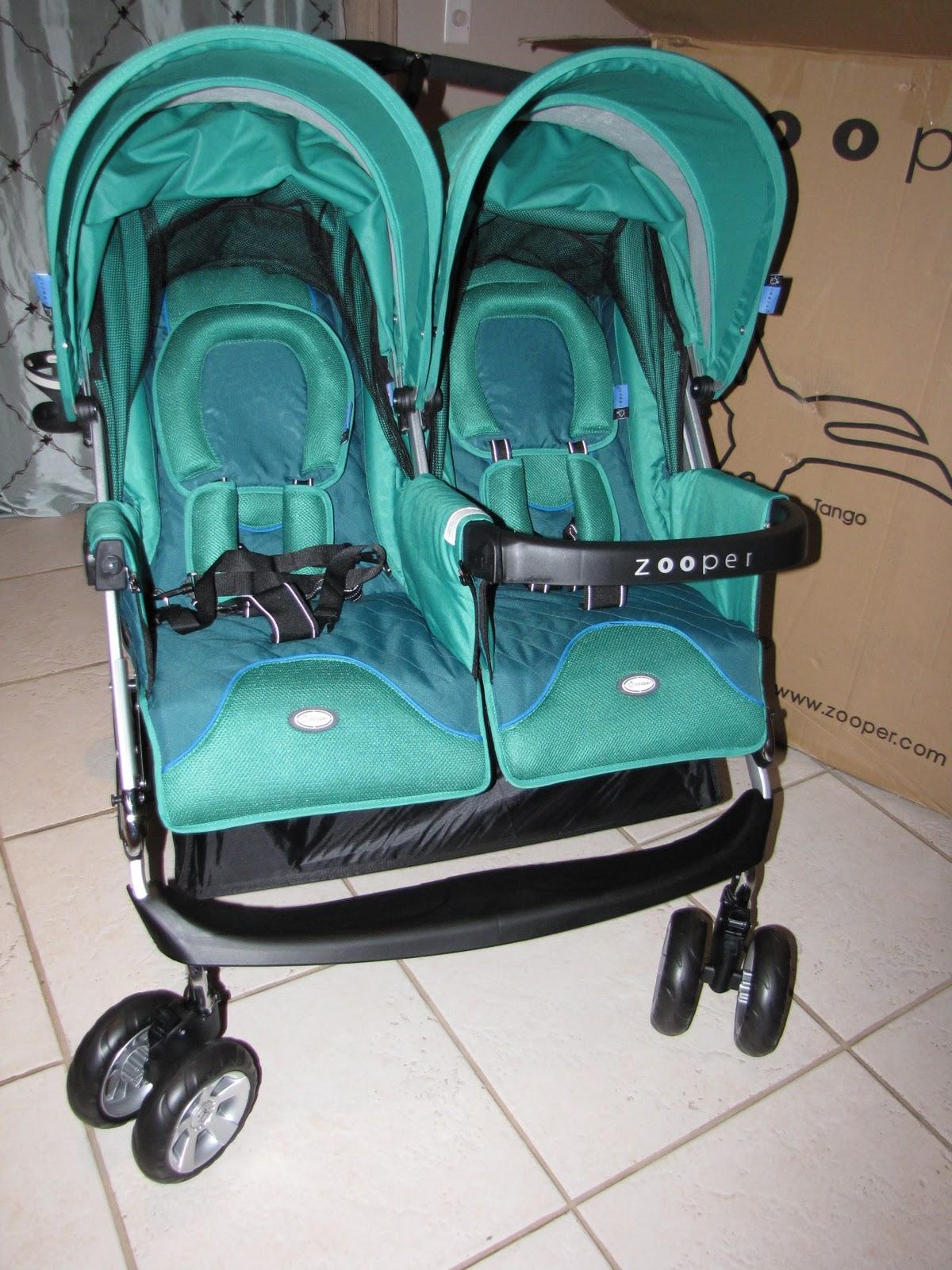 Mountain Flowers Zooper TANGO Standard Double Seat Stroller