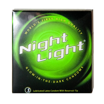 Movie with glowing condoms