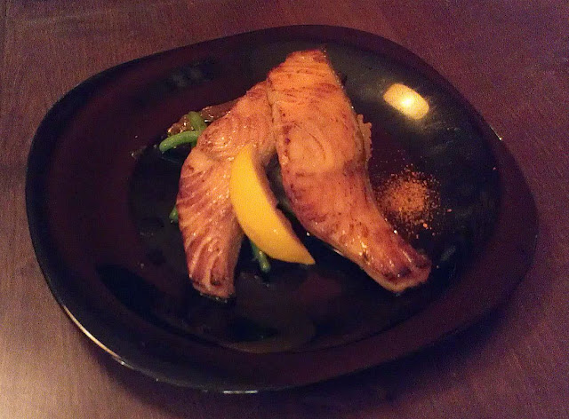 Leafee Cafe, Thorndon, New Zealand, Japanese, salmon
