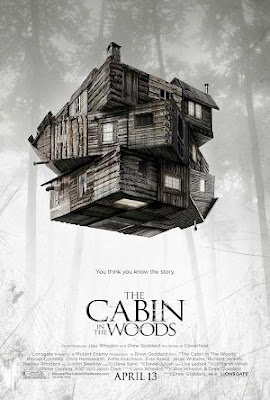 Cabin in the Woods 2012 film movie poster