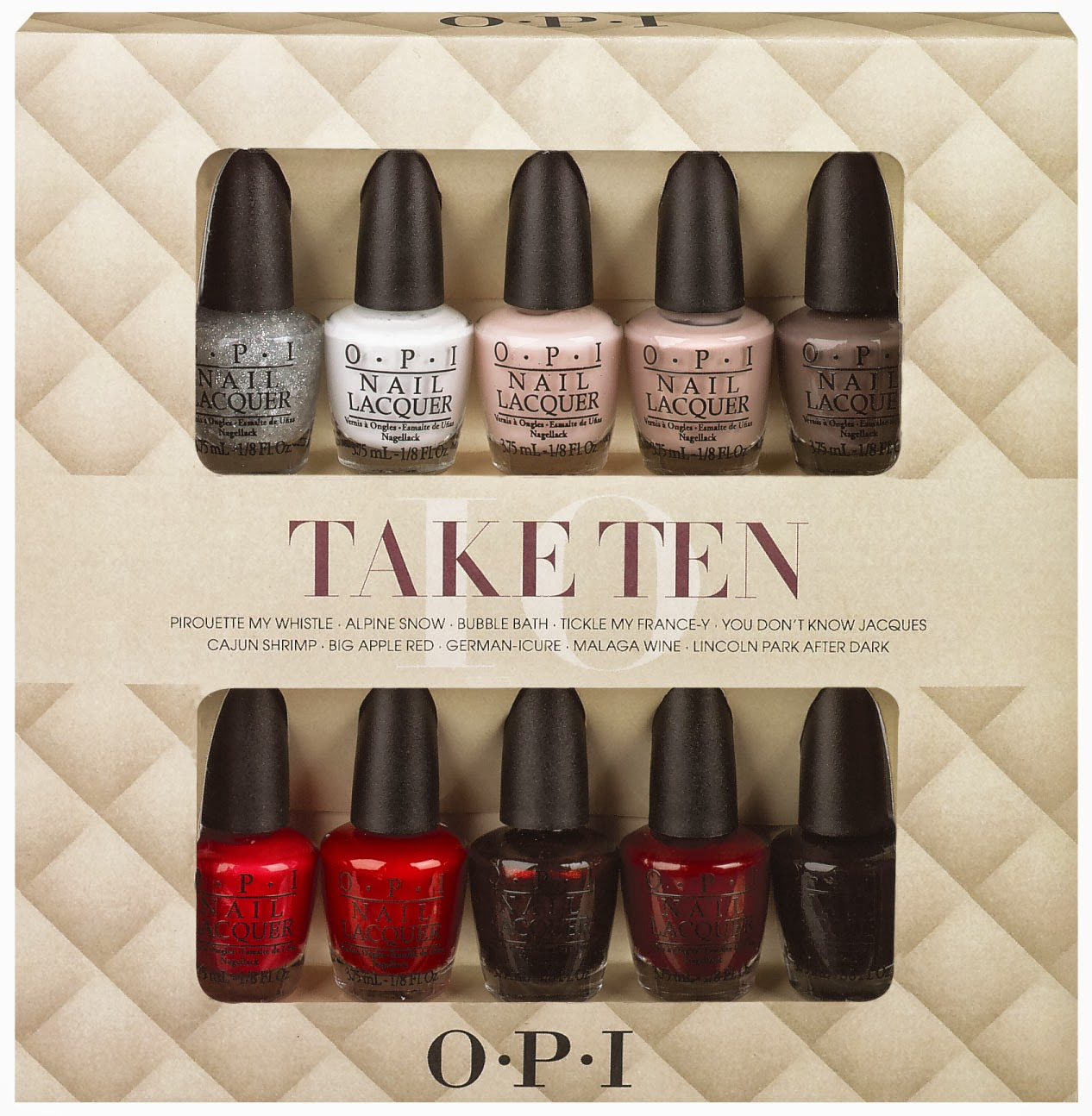 Chalkboard Nails News OPI Take Ten And Top This! Gift Sets For Holiday 2013