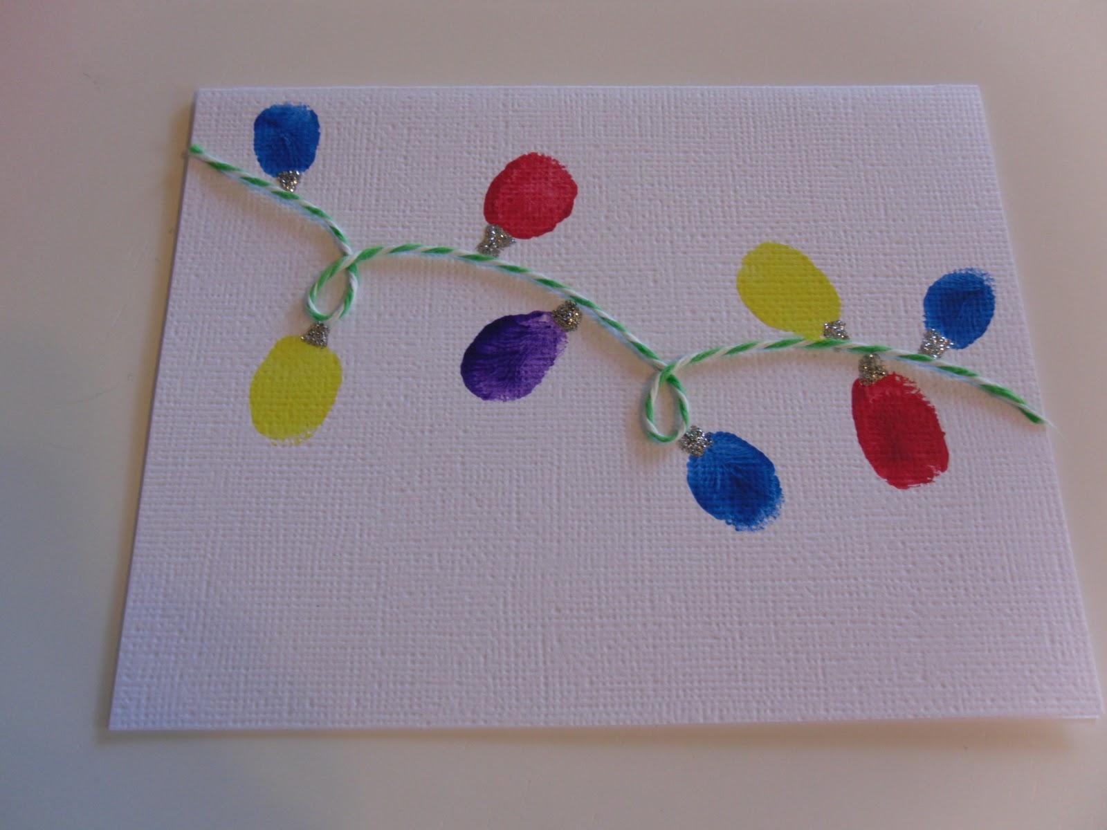 Simple Handmade Christmas cards