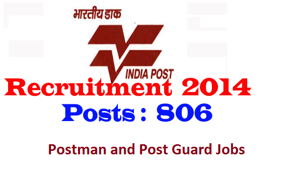 Tamilnadu Postal Circle Recruitment 2014