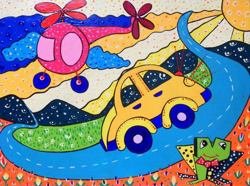 Im genes arte pinturas ideas modernas para hacer cuadros - Cuadros habitaciones infantiles ...