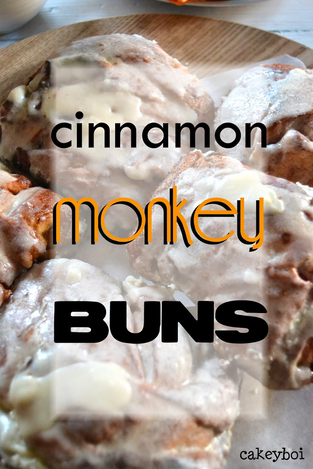 cinnamon rolls and monkey bread combined