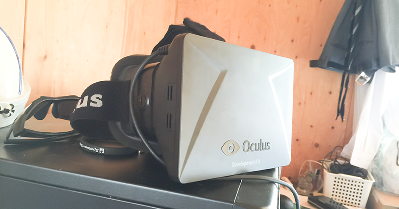 Oculus Rift DK1 (Developer Kit 1) を使って、アクションパズルゲームPortal 2をプレイする
