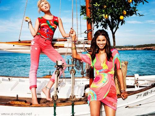 Vestidos cortos Desigual verano 2013